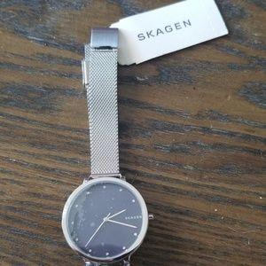 Skagen women's diamond watch